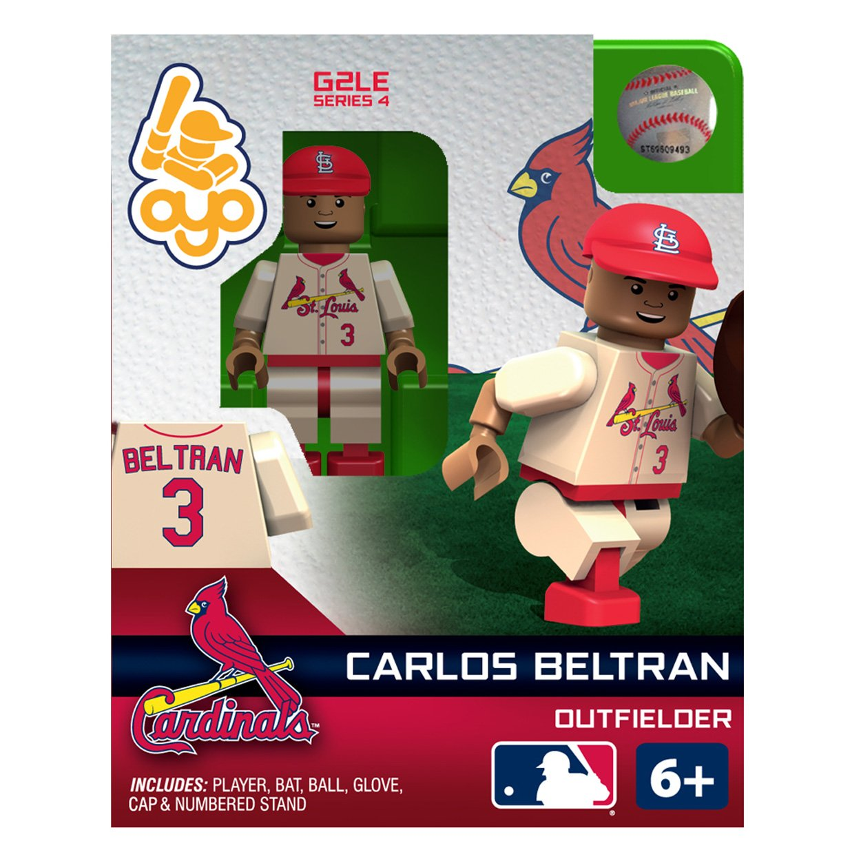 Mlb Saint Louis Cardinals Carlos Beltran Oyo Figure