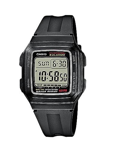 6a36166cc44 Casio Reloj de Pulsera F-201WA-1AEF  Amazon.es  Relojes