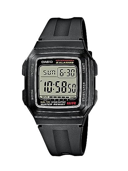 5594780b6 Casio Reloj de Pulsera F-201WA-1AEF: Amazon.es: Relojes
