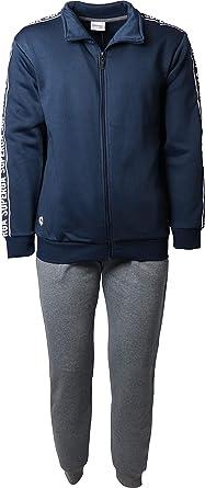 G&C Chándal Superga de hombre de algodón afelpado, ideal como ropa ...