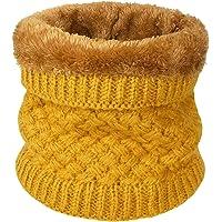 heekpek Calentador de Cuello Bufanda de Tubo Lazo para Hombre y Mujer Multifuncional Grueso y Cálido Bufanda y Gorra…