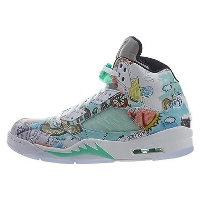 pretty nice f3000 b5367 Amazon.com | Jordan 5 - Wings Mens | Shoes