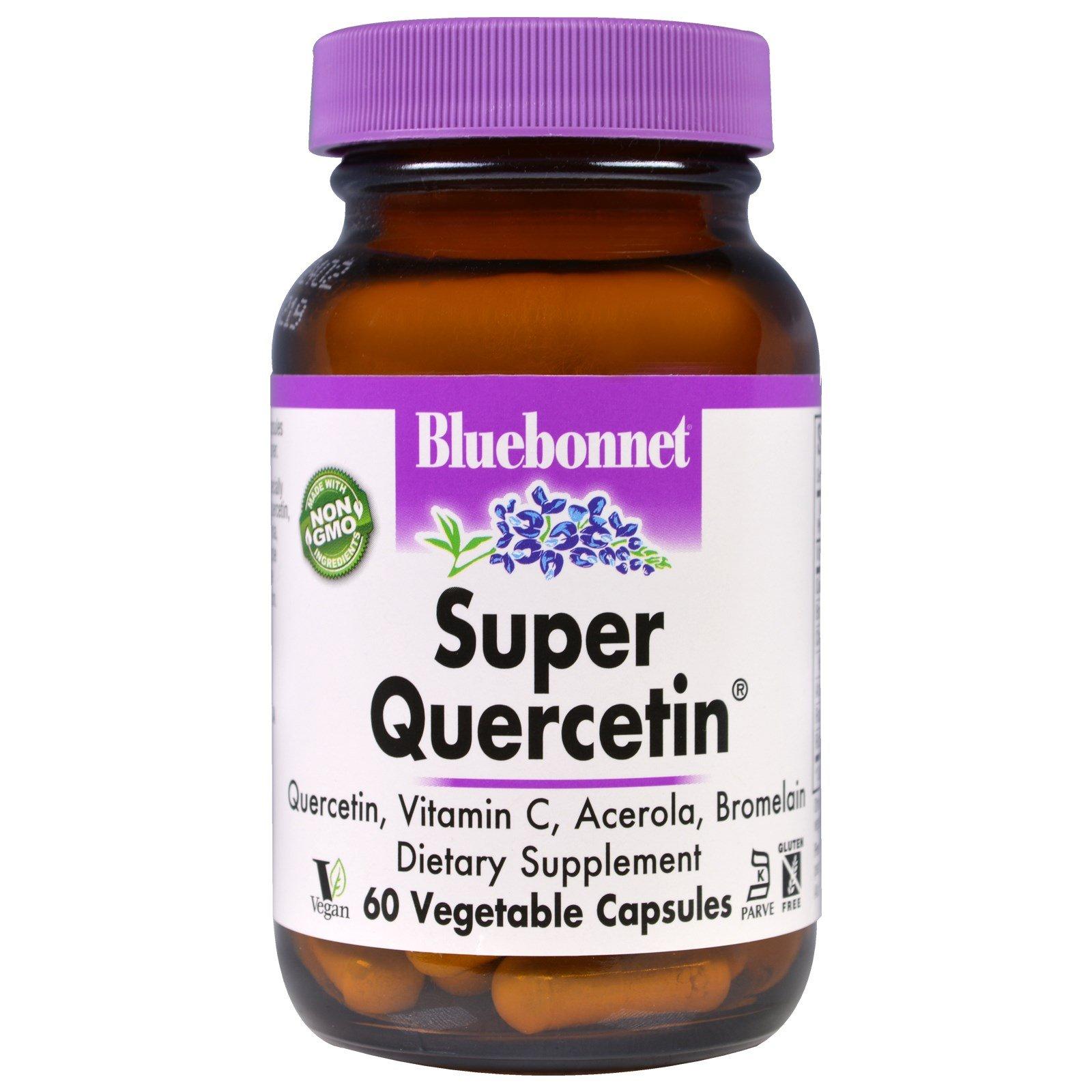 Bluebonnet Nutrition, Super Quercetin, 60 Veggie Caps - 2pc