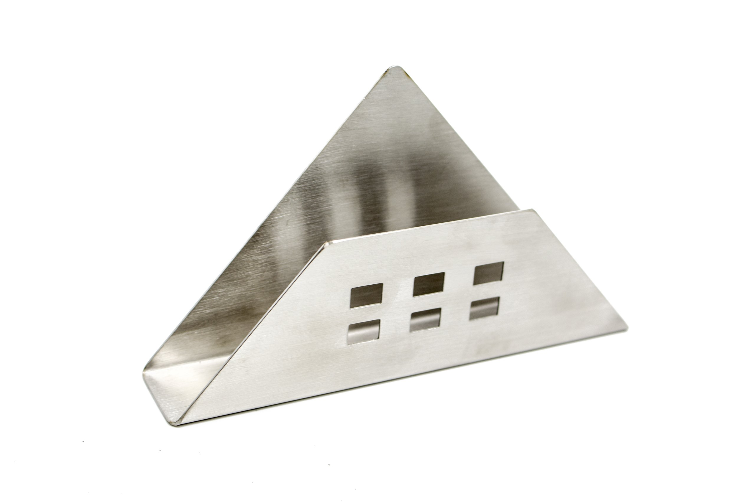 BaoHao 202 Stainless Steel Napkin Holder for Kitchen Countertops,Table,Home …V2  6.10''x1.18''x4.53''