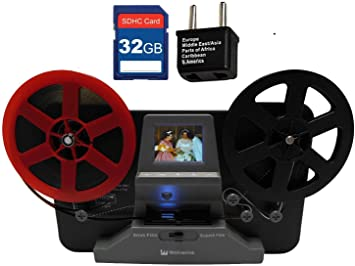 Up to 9 Reels AS IS-C Wolverine Data MovieMaker PRO 8mm and Super 8 Converter