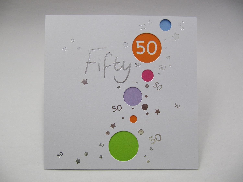 Birthday Cards Aged Tarjeta de felicitación de 50 cumpleaños ...