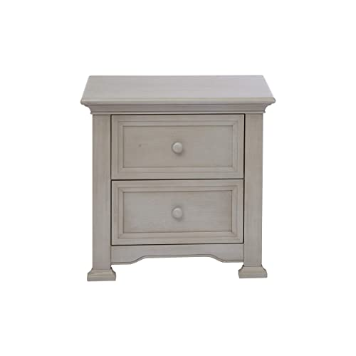 Centennial Medford 2 Drawer Nightstand Vintage Grey