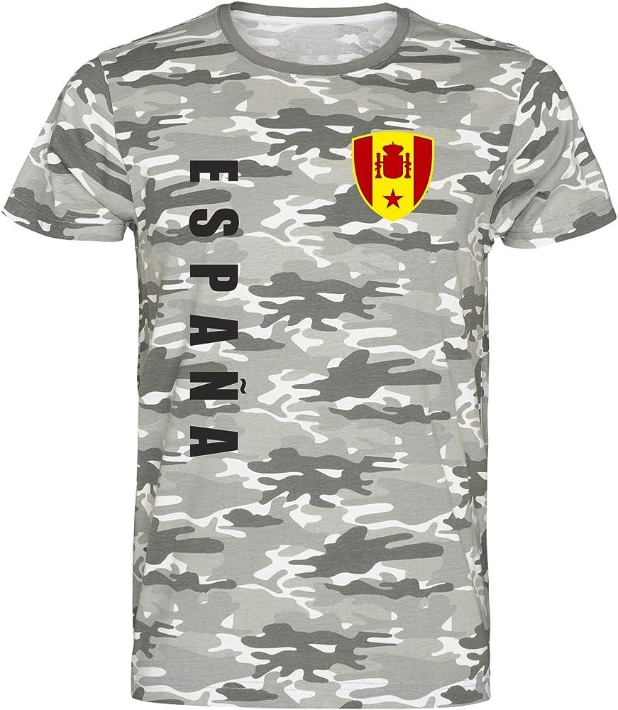 Nation España - Camiseta de Camuflaje wspa Army Camuflaje S ...