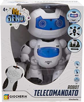 LIBROLANDIA Giocheria GGI190020 MR Genio Robot Smart Radiocomandato Programmabile