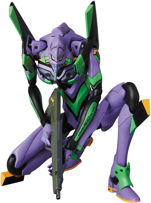 Medicom Neon Genesis Evangelion: Eva Evangelion Unit 01 Shogo-Ki Maf Ex Action Figure