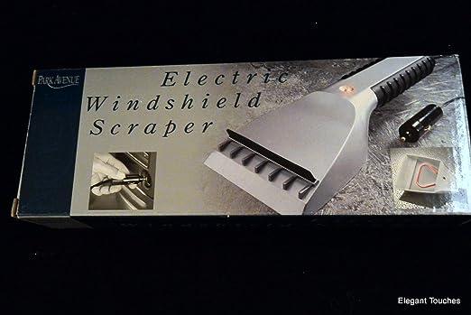 12V DC ELECTRIC HEATED ICE SCRAPER CAR VAN WINDSCREEN SNOW REMOVAL BRUSH SHOVEL