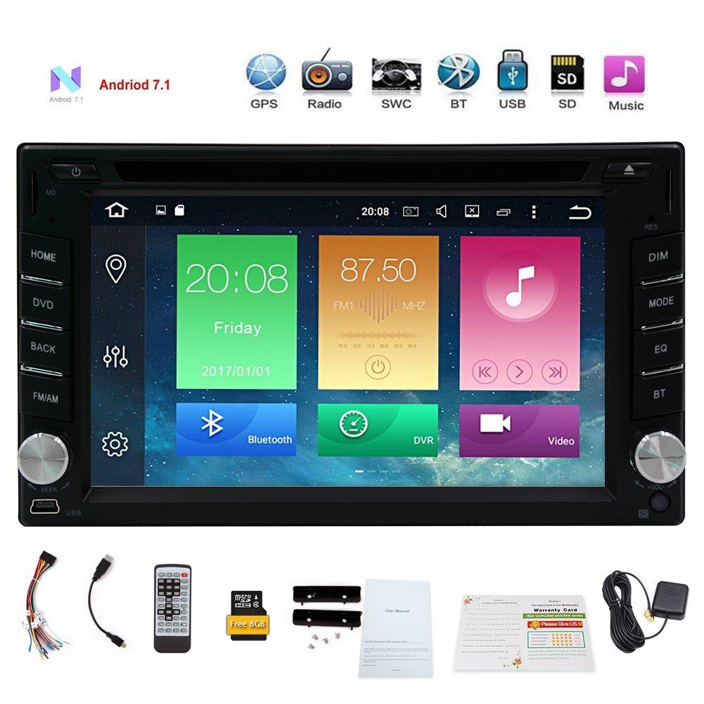 車GPSナビゲーションダッシュビデオでPlayer with Bluetoothカーステレオラジオ YH.AN70257GNN.e1 B07BGXKZ36 Android 7.1 GPS Car DVD Player Android 7.1 GPS Car DVD Player