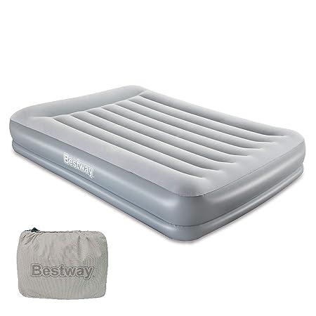 Bestway Tritech Colchón Inflable con inflador de Aire de ...