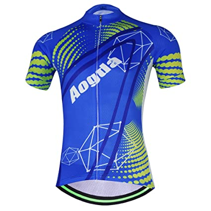 9af18b89f27 Aogde Men s Cycling Jersey 3D Silicon Padded Bicycle Clothing Wear Suit  Breathable Short Sleeve Cycle Skinsuits