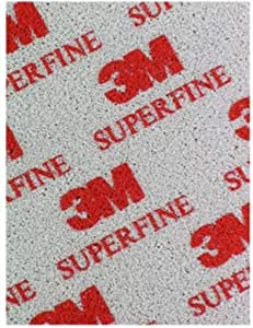 3M 03810 Softback Sanding Sponge Foam, 115mm x 140mm, 20 Pieces