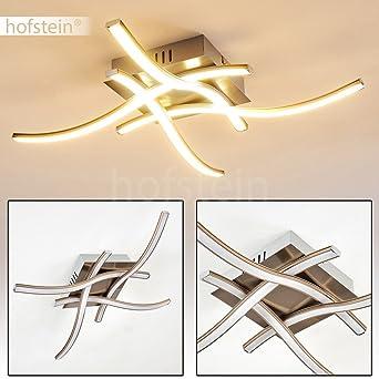 Designer Deckenleuchte 4 Flammig Mit LED Lichtleisten U2013 Deckenstrahler  Casale Für Wohnzimmer, Schlafzimmer,
