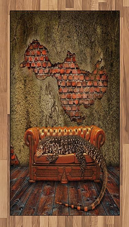 Amazon.com: Ambesonne Fantasy Area Rug, Decadence Grunge ...