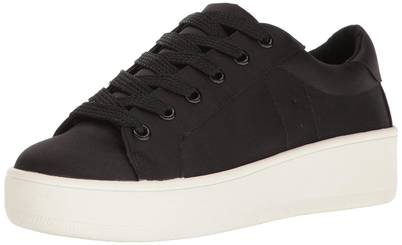 Steve Madden Women's Bertie-s Fashion Sneaker B01NA9USLT 8 B(M) US Black Satin