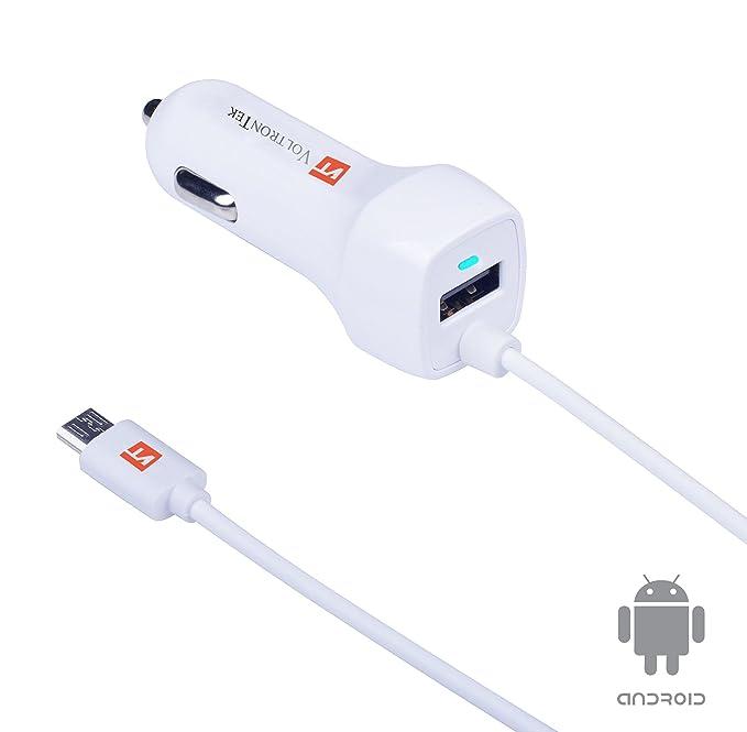 Micro USB cargador de coche, voltrontek Ultra rápido ...