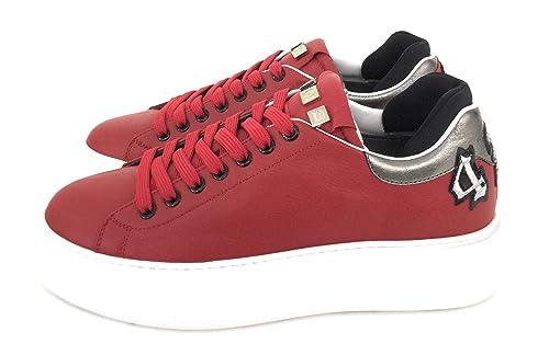 the best attitude 8d74b a73fa Cesare Paciotti 4Us, Sneakers Uomo,Rosso: Amazon.it: Scarpe ...