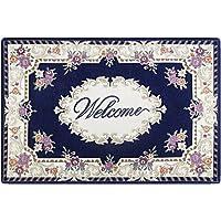 GRECUTE Front Doormat Welcome Scraper Entrance Door Mat 18''x30''