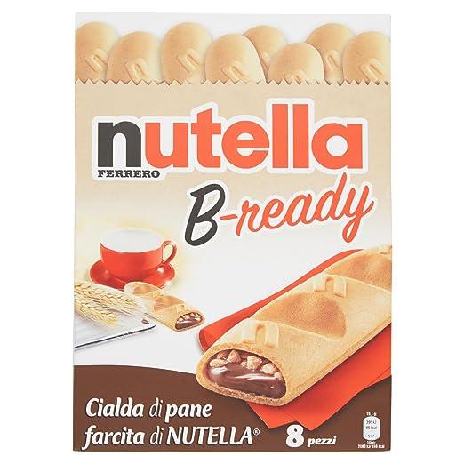 17 opinioni per Nutella B-ready- 8 x 19,1g