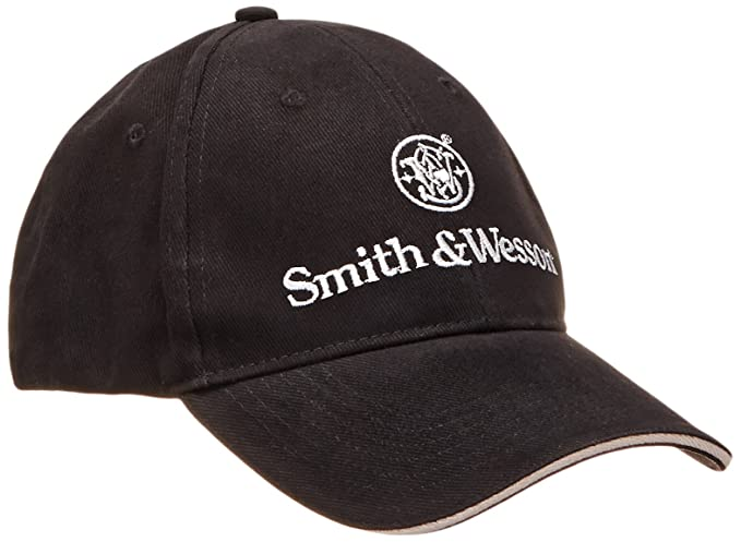2acc87fced890 Smith   Wesson Men s Logo Cap