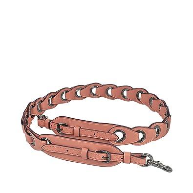 b8cff43efb8 COACH Womens Linked Leather Novelty Strap