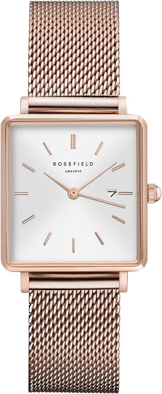 Rosefield The Boxy - Reloj de Pulsera para Mujer