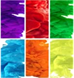 Color Smoke Effect for Photography, Parties, Gender Reveal, Sports - Rainbow Set of All 6 Colors. (EG18 Model: 90-120 Seconds) (6 Colors: Red, Blue, Green, Purple, Orange, Yellow)