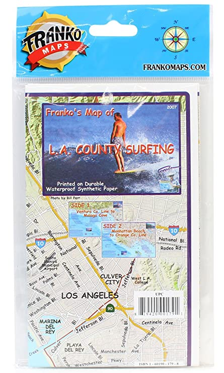 Amazon.com : L.A. County Surfing Map Waterproof Surfing ... on ventura county map, south bend county map, riverside county, downtown los angeles, santa clarita, ventura county, san francisco county map, santa monica, san diego county map, south carolina map, northwest oregon county map, orange county, pasadena map, burbank county map, san diego county, california map, la county map, kern county map, riverside map, butte county map, long beach, beverly hills, glendale map, sf bay county map, santa cruz county map, southern california, san bernardino county, bernardino county map, indianapolis county map, hollywood map, san francisco bay area, orange county map,