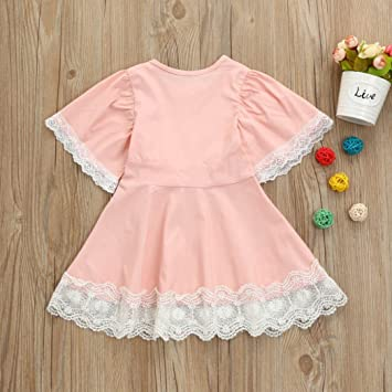 Birdfly Toddler Girl Britpop Style Elegant Dot Print Shirt Headbands 4Pcs Set School Uniform Tie Pure Yellow Skirt