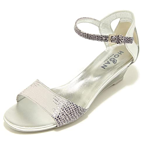 7050F sandalo lilla argento viola HOGAN ZEPPA H 230 FASCIA