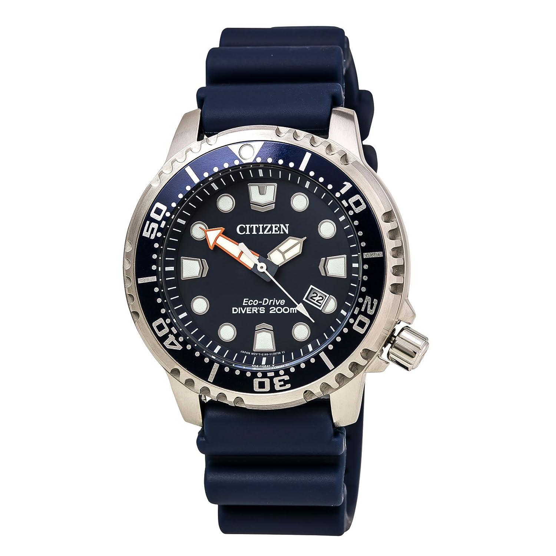 d2b63be851d67 Citizen Men s BN0151-09L Promaster Diver Analog Display Japanese Quartz  Blue Watch