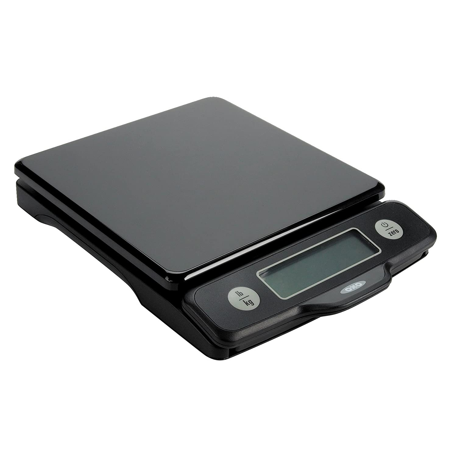 OXO 1157100 Digital Food Scale, Pull Out 5 lb Black
