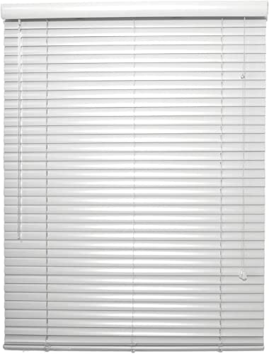 spotblinds Custom Made 1 Inch Choice Aluminum Mini Blinds 69 Inches to 81 Inches in Width by 43 Inches to 60 Inches in Length This Blind Will be 78 W x 59 L White Grey Black Brown Red Blue