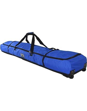 7867481141 High Sierra Deluxe Wheeled Double Ski Bag