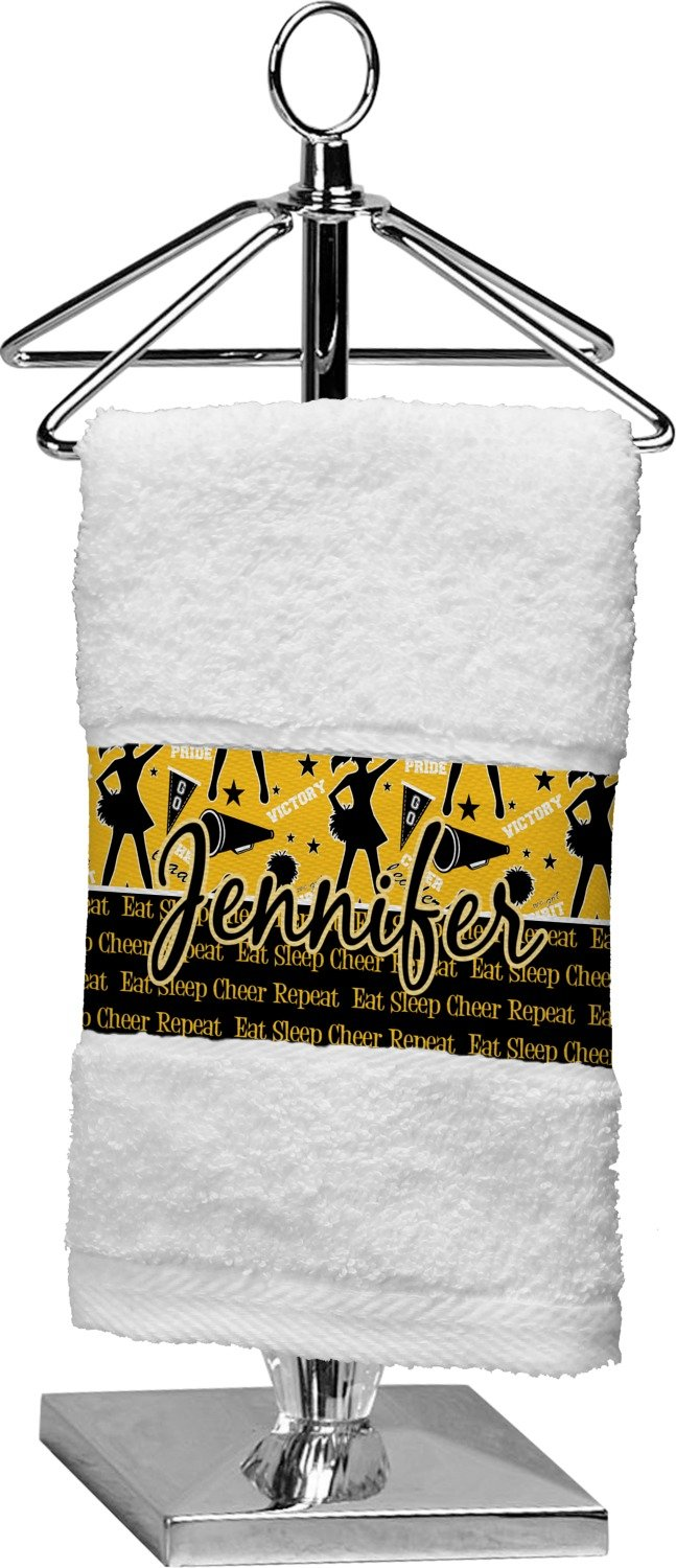 RNK Shops Cheer Finger Tip Towel (Personalized)
