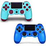 2 Pack Game Controller for PS4- Double Shock 4 Wireless Controller for Playstation 4 - Joystick with Sixaxis, Bluetooth…