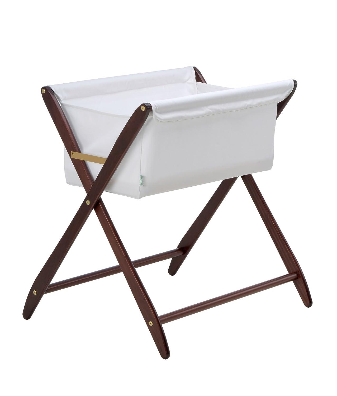 amazoncom  cariboo folding bassinet (mahogany)  baby -