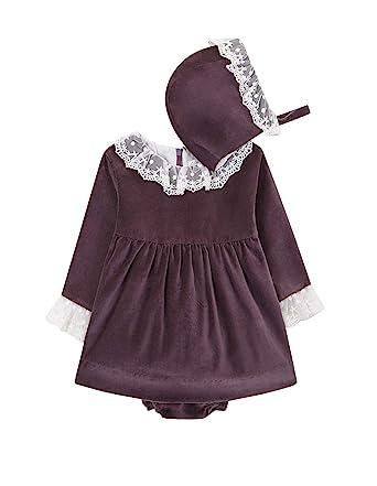 61a4a8f16 Gocco Baby-Mädchen Kleid Vestido Terciopelo  Amazon.de  Bekleidung