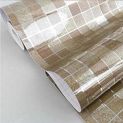 DooXoo 45 x 200 cm, da cucina, in alluminio rivestito in PVC, mosaico