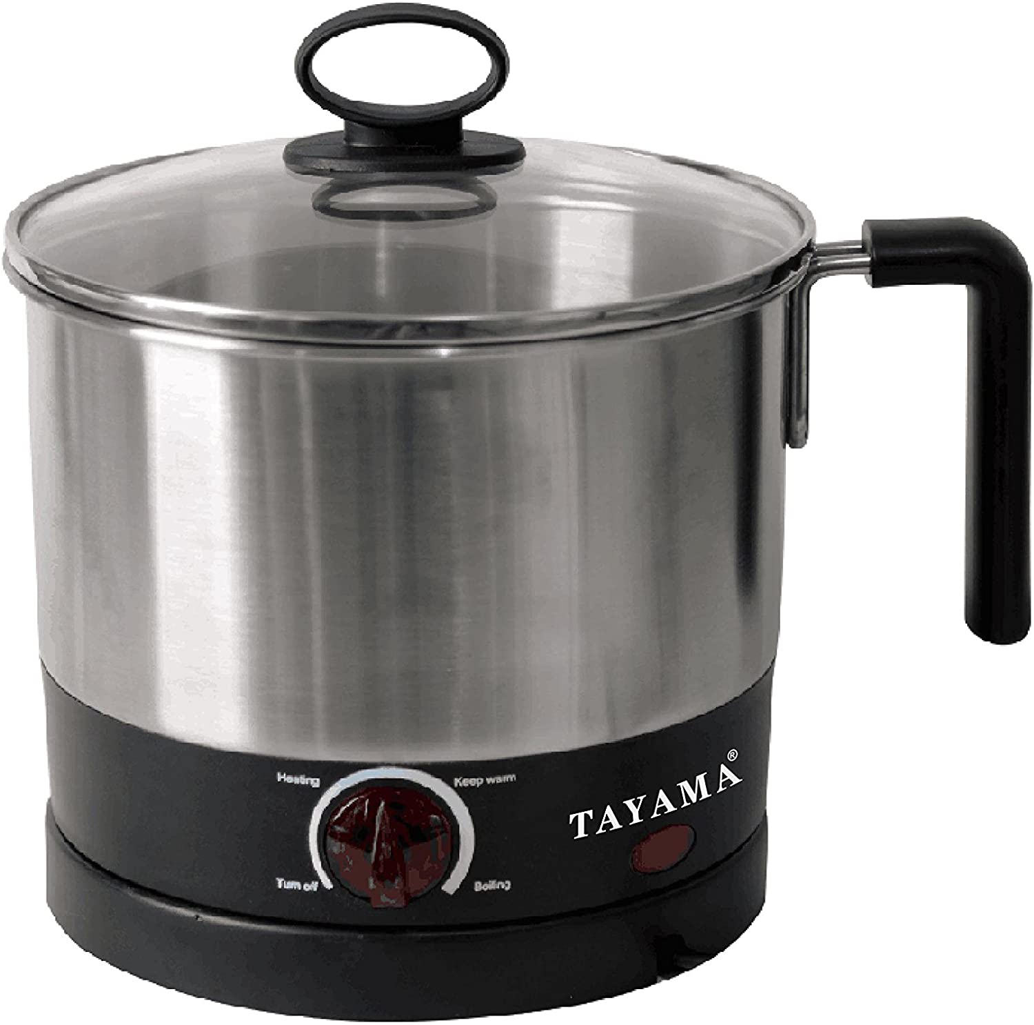 Tayama Noodle Cooker & Water Kettle 1 Liter (4-Cup), stainless steel (EPC-01R)