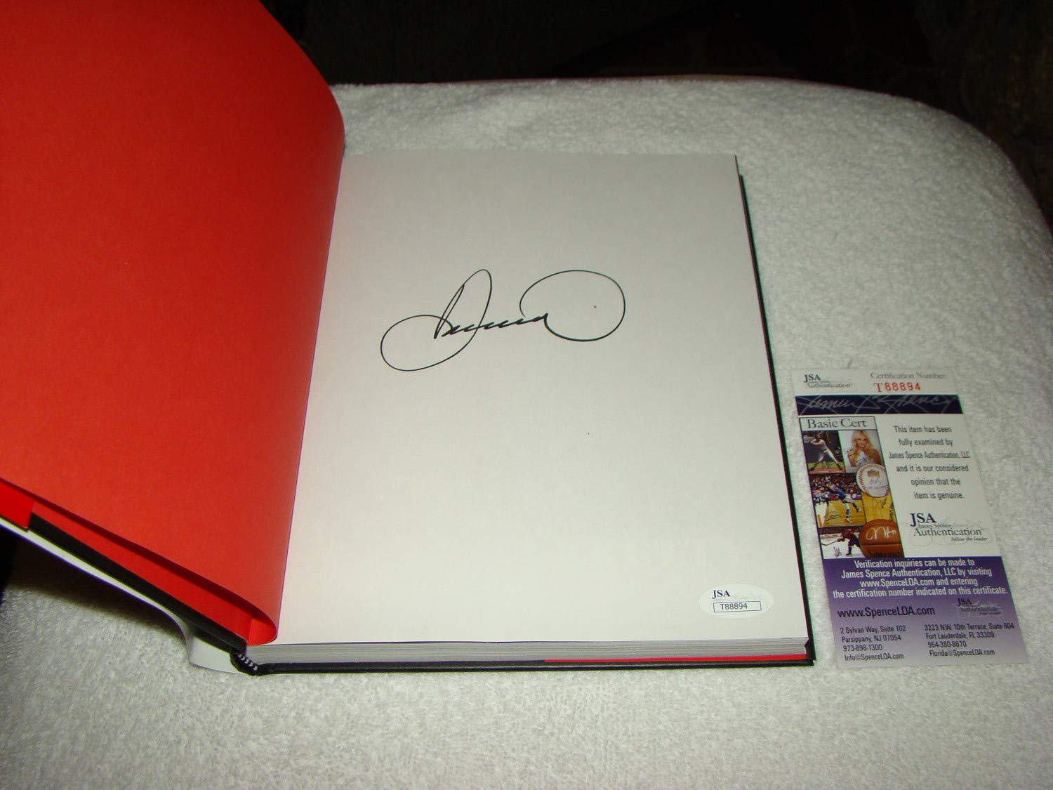 Danica Patrick Autographed Signed 1St Edition Hardback Book Pretty Intense JSA Authentic #T88894