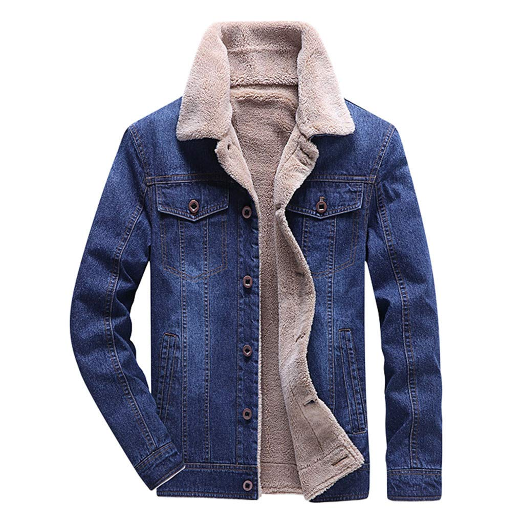 Amazon.com: Teen Boys Denim Jacket Winter,Iuhan Men ...
