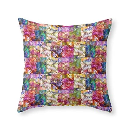Amazon Society40 Rose Jeweled Throw Pillow Indoor Cover 40 X Custom Jeweled Decorative Pillows