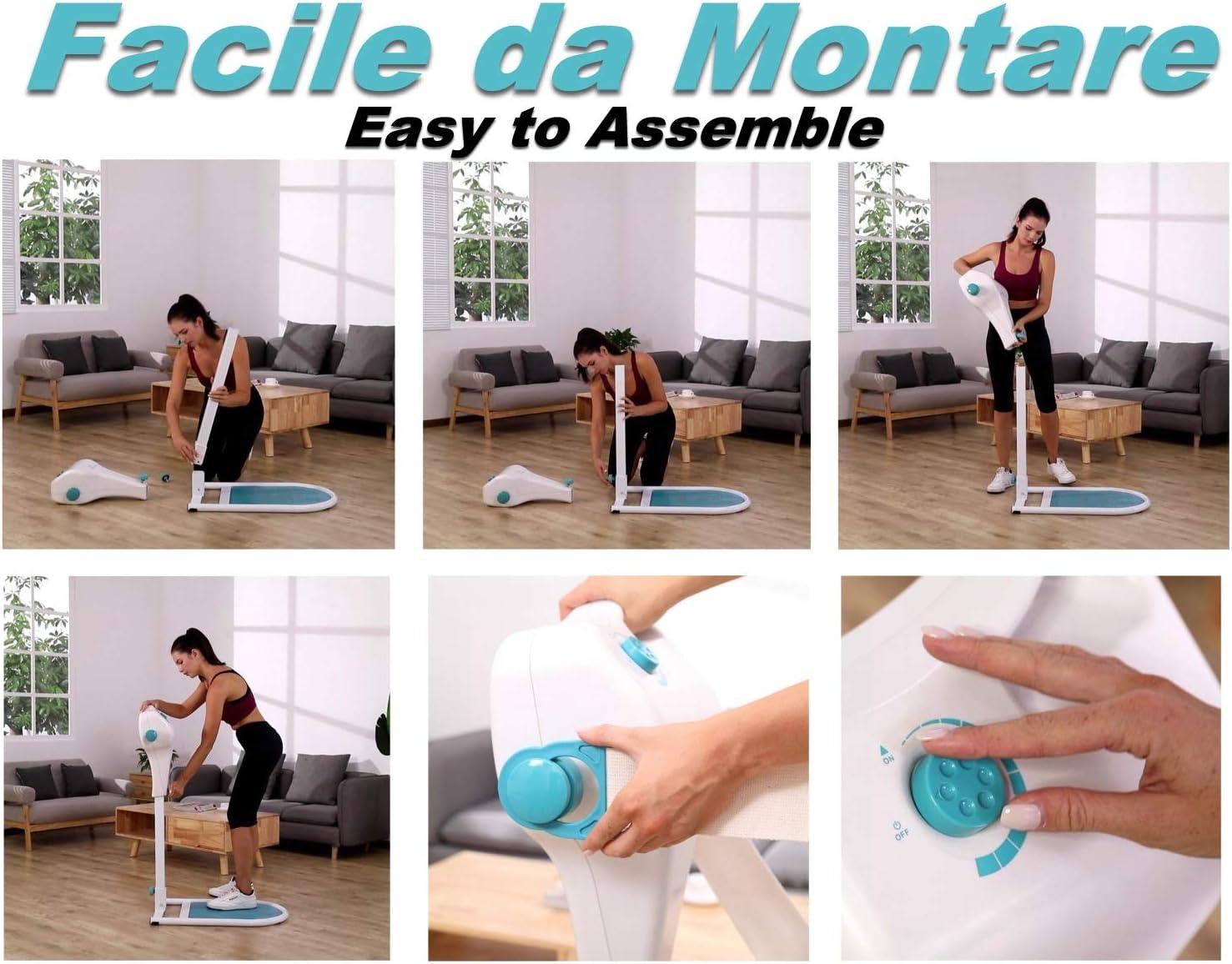VibroMasajeador El Nuevo Variolux Super Dise/ño Italiano 2 Cinturones Anticelul/íticos innovadores 12 velocidades /¡Precio Especial!
