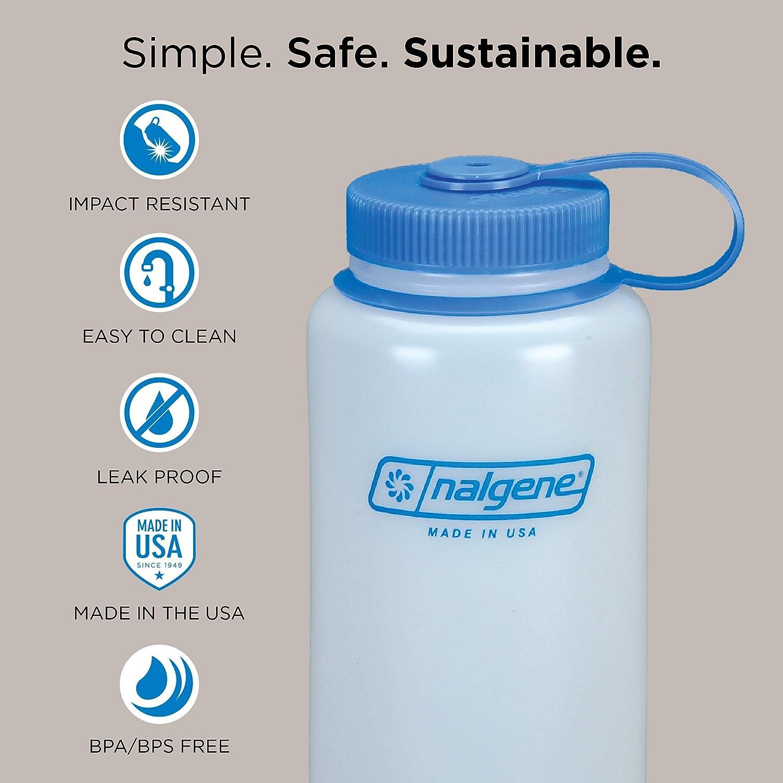 Nalgene Water Bottle Everyday Wide Neck Silo