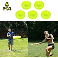 OASMU Mini Bolsillo Flexible Suave Nuevo Spin in Catching Game Flying Disc Catching Game Beach Outdoor Toys