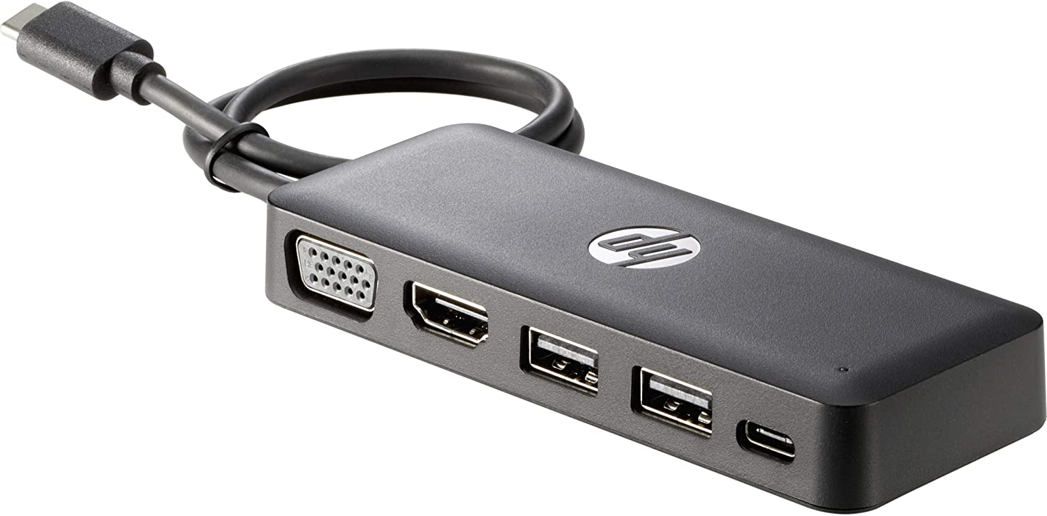 HP Inc. 7PJ38UT SBUY USB-C Travel Hub G2